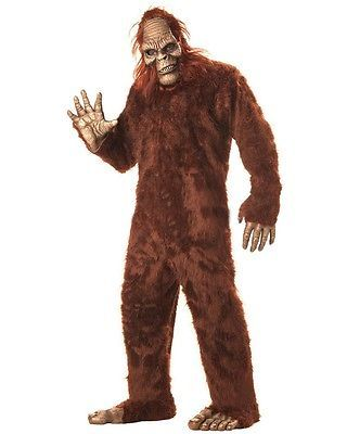 Big Foot Mens Costume Size OS