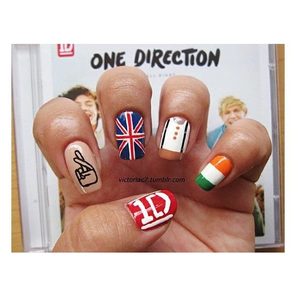 One Direction ❤ liked on Polyvore featuring beauty products, nail care, nail treatments, nails, one direction, 1d, beauty and makeup