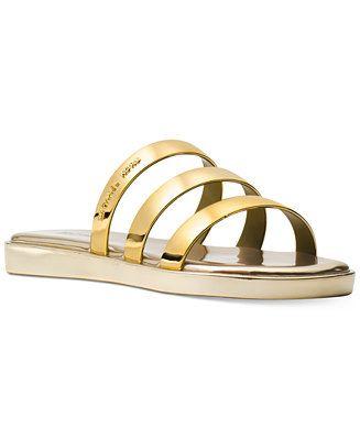 0fdad9398a64 MICHAEL Michael Kors Keiko Slide Sandals - Sandals - Shoes - Macy s ...