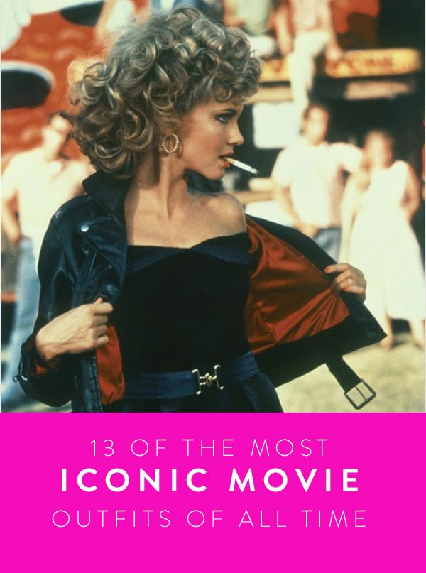 13 of the Most Iconic Movie Outfits of All Time. Classic looks we all remember.
