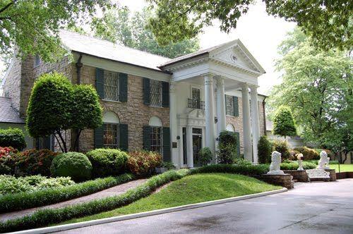 graceland | Elvis Presley Luxury Graceland House Pictures