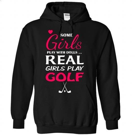 Real girls love Golf - tshirt printing #fashion #T-Shirts