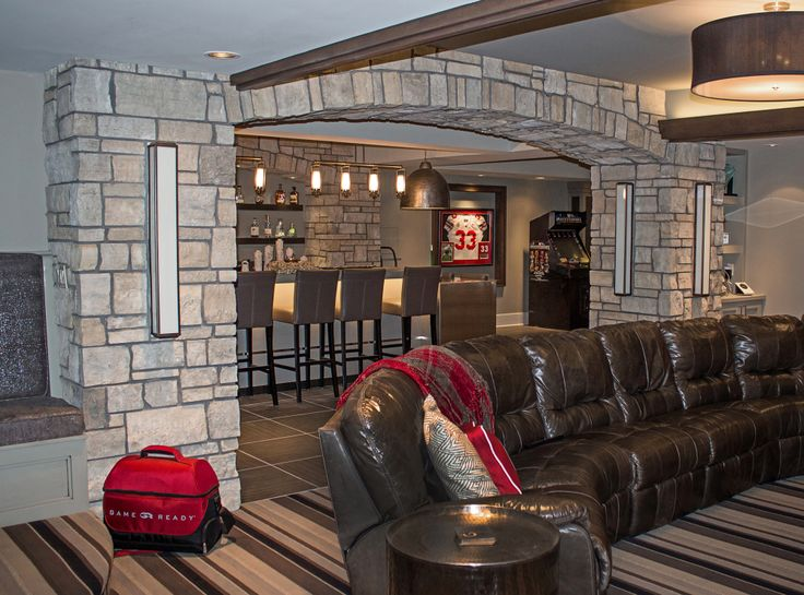 Best Man Cave Images On Pinterest Building Stone Natural - 33 best man caves ever seen