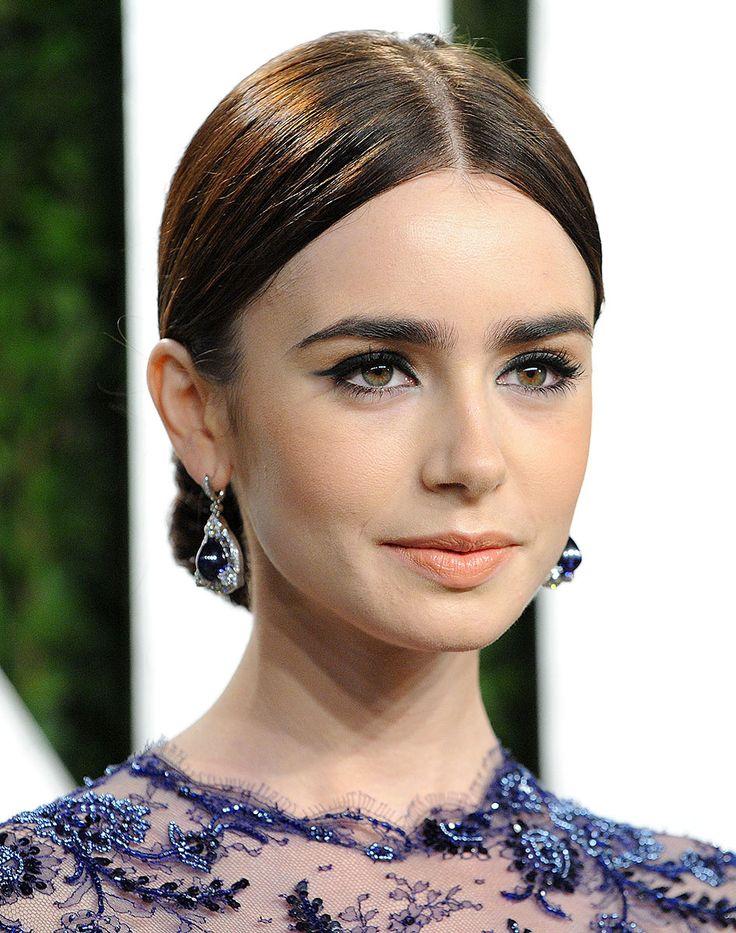 Tendencias primavera 2013 belleza maquillaje cejas gruesas - Lilly Collins