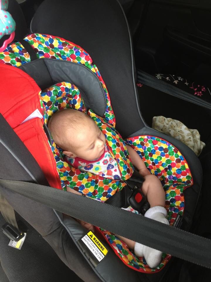 Car seat insert from bambelladesigns.com.au