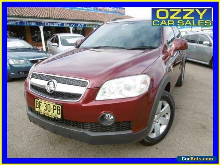 2007 Holden Captiva CG MY08 CX (4x4) Burgundy Automatic 5sp A Wagon #holden #captiva #forsale #australia