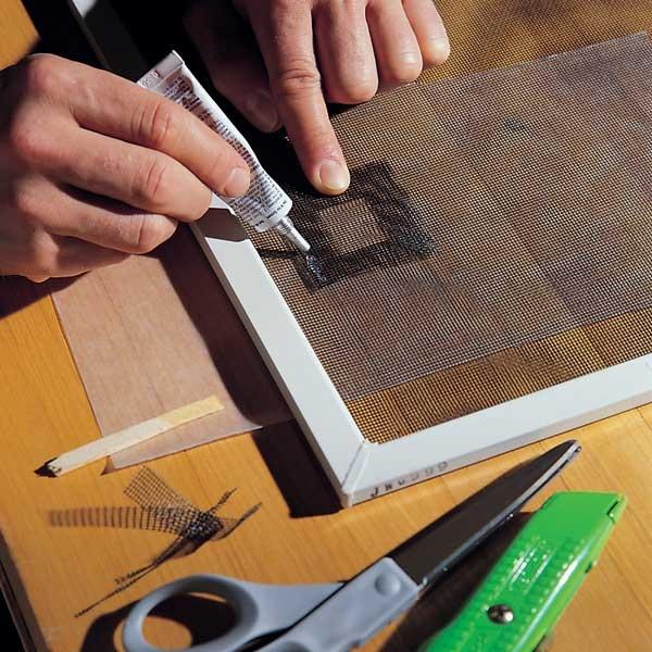 Repair A Torn Fibergl Screen Doors Windows Pinterest Diy And Home