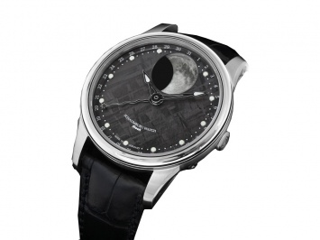 Schaumburg Moon Meteorite: Schaumberg Moon, Moon Collection, Moon Phases, German Branding Schaumburg, Moon Meteorite, Watches, Schaumburg Moon