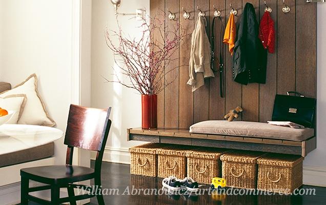 Mudroom Storage - Gilt Home