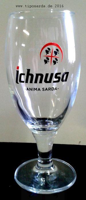 Ichnusa Bierglas - schlicht Kult, daß Ichnusa Bierglas jetzt bestellen