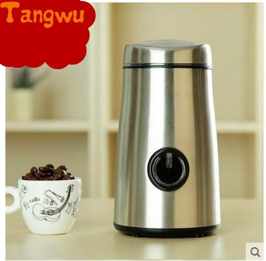 75.00$  Buy now - http://alidfi.shopchina.info/go.php?t=32598948554 - Free shipping Electric grinding machine of stainless steel coffee beans small household grain  #buychinaproducts