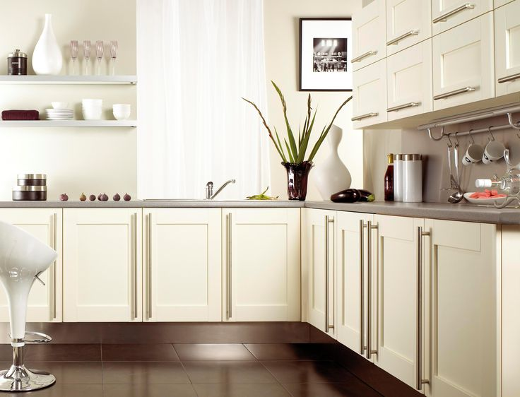 White Kitchen Cabinets Modern Kitchen Cabinets Ikea With White Swivel Chair  With Awesome Kitchen Cabinet Also Clean Brown Ceramic Tile For Best Small Part 64