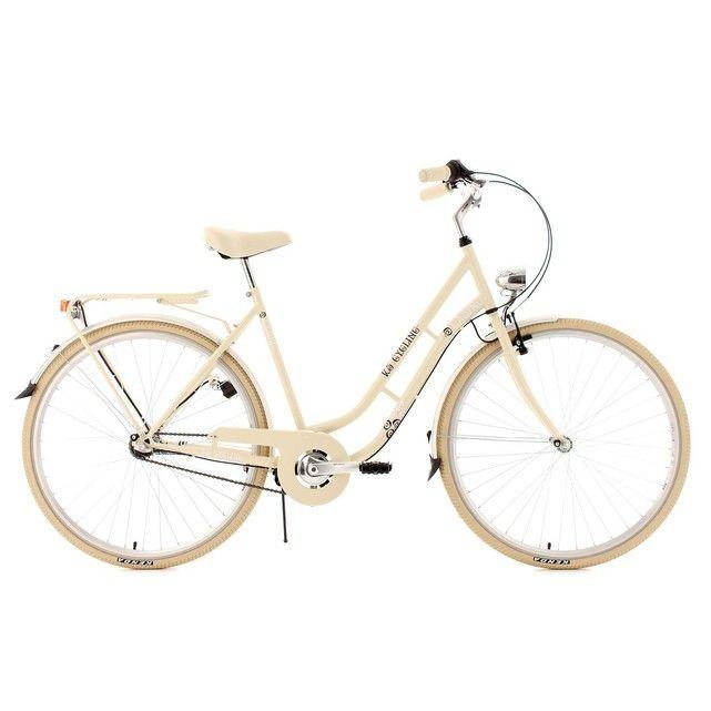 286€ Vélo de ville 28'' Casino beige TC 53cm 3V KS Cycling KS