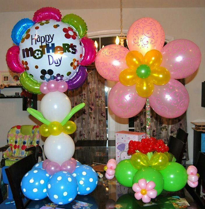27 best images about mother 39 s day balloon decorations on for B day party decoration ideas