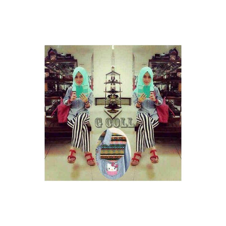 Jual Baju GW Hijab Rully TA - Pusat Grosir Baju Metro Tanah Abang