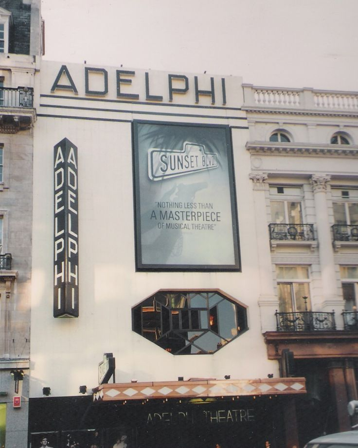 Adelphi Theatre more then 20 years ago that I first saw Sunset Boulevard....
