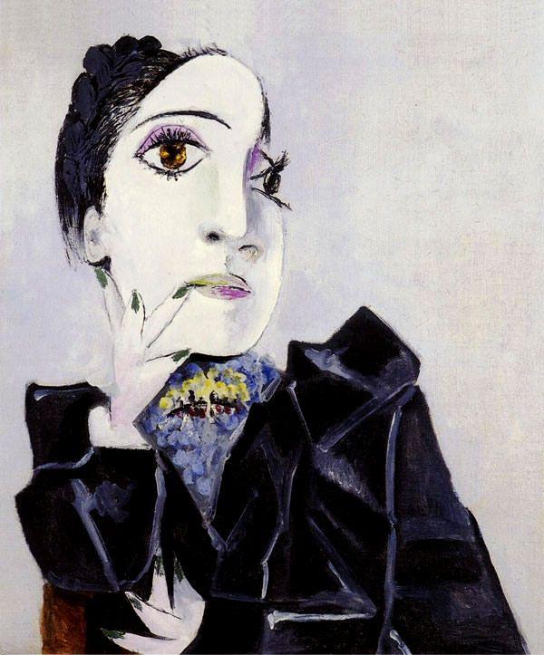 Пабло Пикассо «Дора Маар с зелеными ногтями»