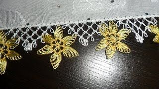 Yeni İğne Oyaları - YouTube Turkish needle lace