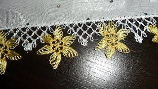 Yeni İğne Oyaları - YouTube Turkish needle lace