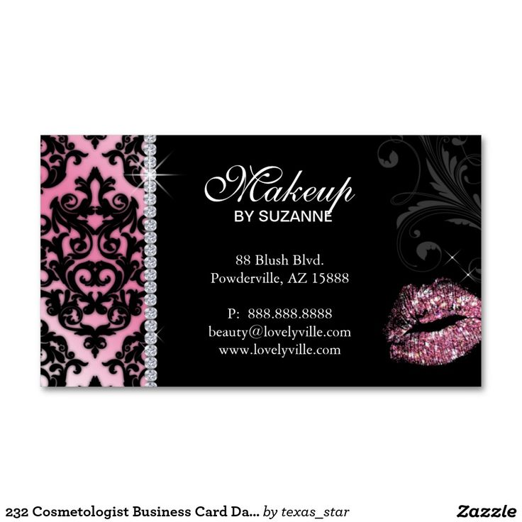 55 best Makeup Business Cards images on Pinterest | Makeup business ...
