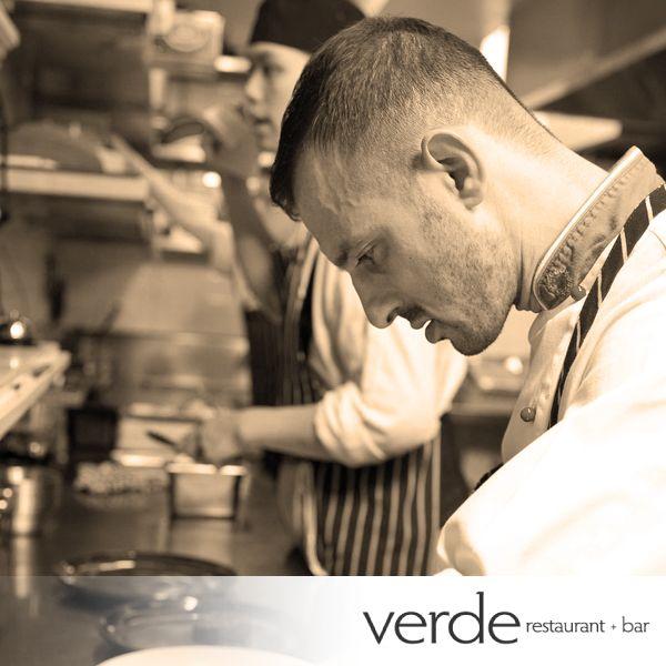 Antonio Ruggerino, head Chef and Owner of Verde