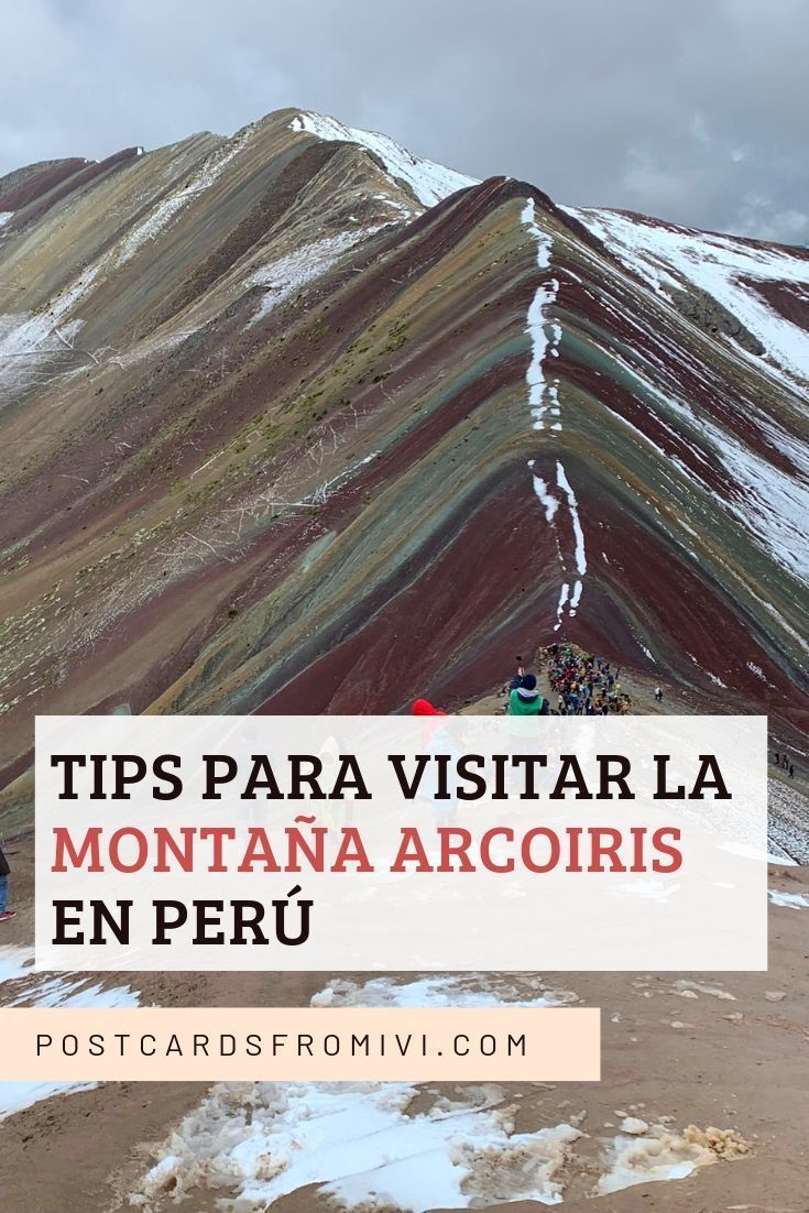 A complete guide on taking the Rainbow Mountain tour from Cusco, Perú. Tour options, hike information, what to bring and more useful tips. Peru Travel, Solo Travel, Travel Tips, Columbia South America, South America Travel, Lago Titicaca Peru, South America Animals, Tourist Agency, South America Destinations