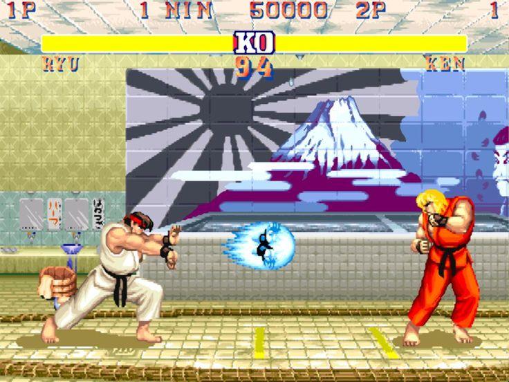 Street Figther II: The World Warrior. Excelente juego de peleas. De lo mejor en los 90s.