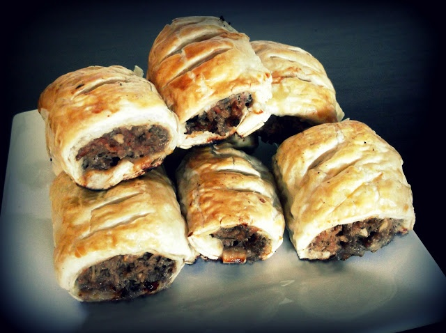 TRADITIONAL HOME STYLE SAUSAGE ROLLS | Appetizers | Pinterest