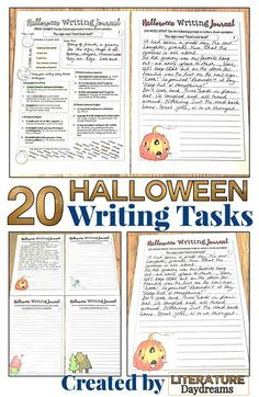 halloween creative writing ideas high school There are numerous graduation ideas for high school, and while you might not want to incorporate all of them, you may want to use several for this while most schools stick to the basics, such as processionals, speeches, diplomas, and recessionals, there are several graduation ideas to consider.