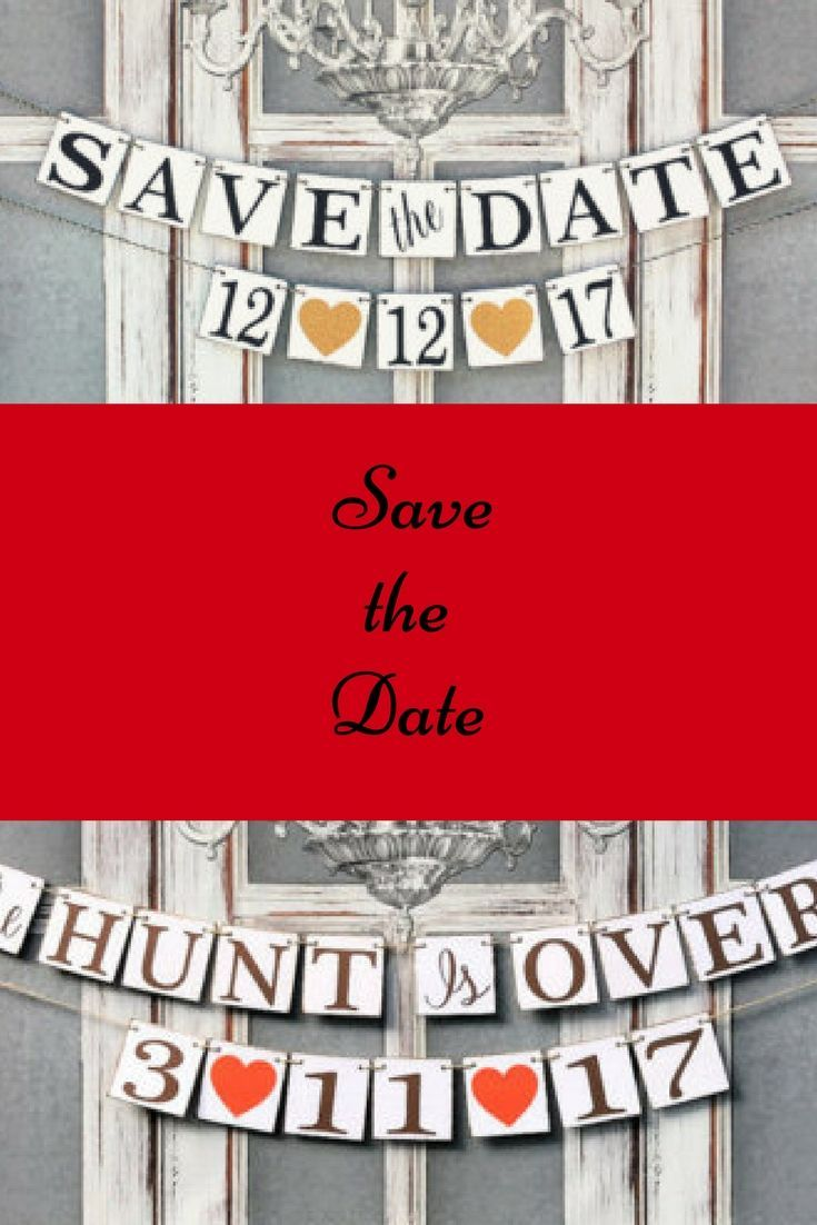 Save The Date Signs Engagement Party Decorations Custom Date