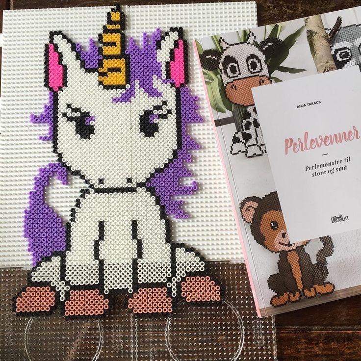 Unicorn hama beads by helenes_sunde_koekken - Pattern: https://de.pinterest.com/pin/374291419013031059/