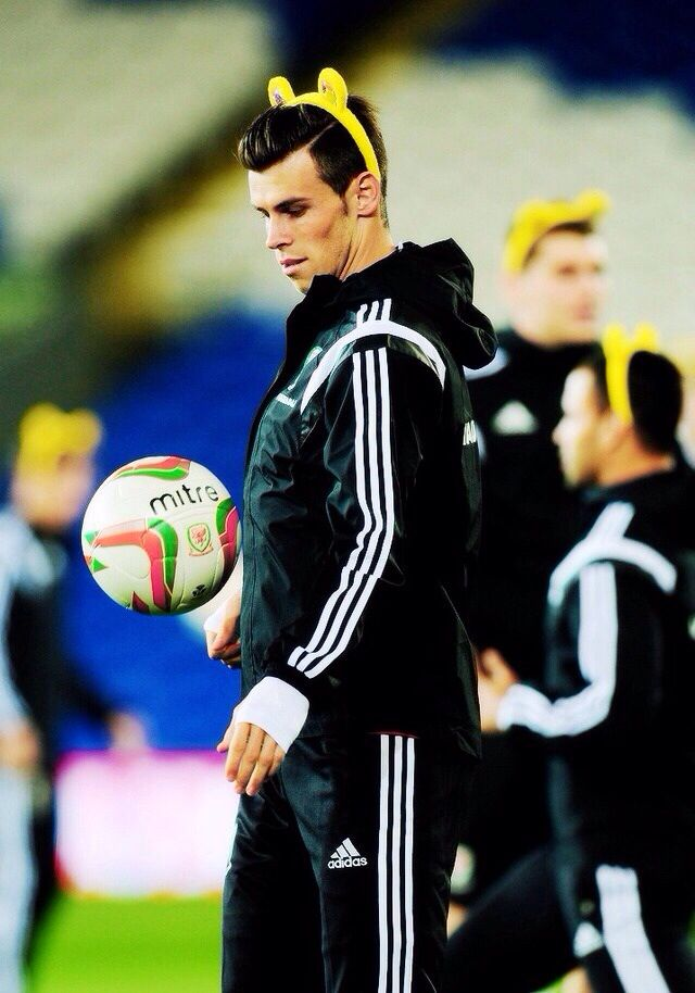 The greatest picture of Gareth Bale.