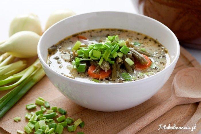 Bouneschlupp - traditional green bean Luxembourg soup