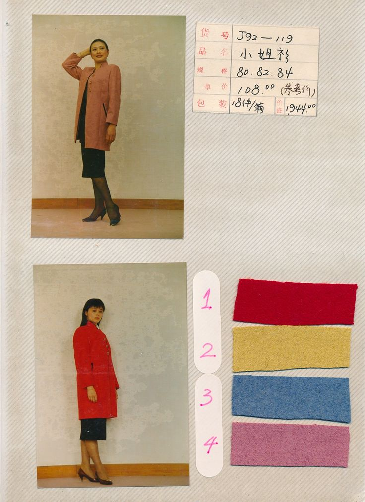 The Guiyang Fabric Factory's Photo Album: Nineties Chinese Fashion Brought to Life