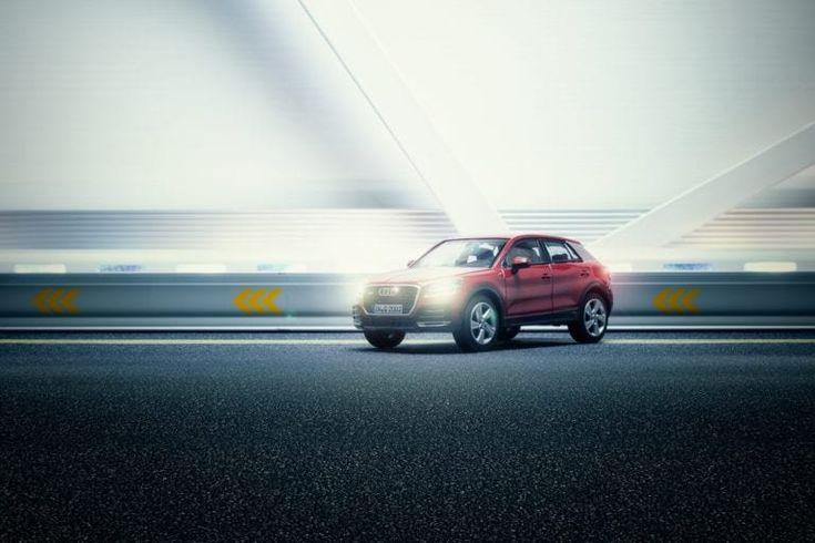 Мексиканский фотограф снял рекламу AUDI с игрушечным автомобилем