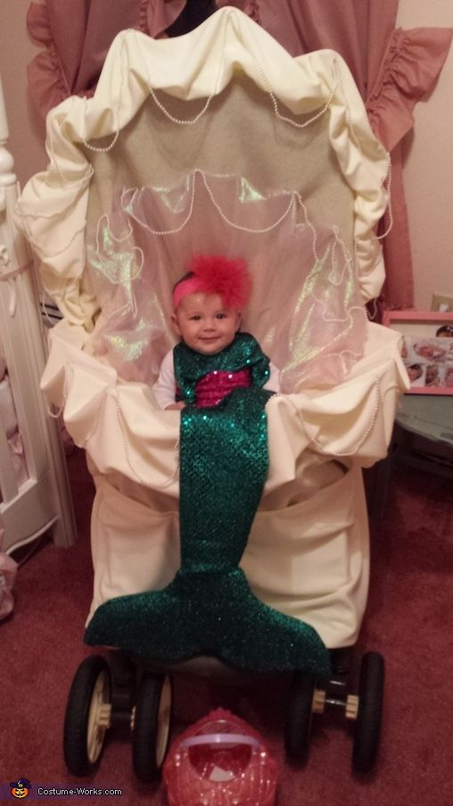 Christina: My daughter Carmela just turned 4 months old on October 30. She is obsessed with the little mermaid! I will sit her in front of the TV and she sings...
