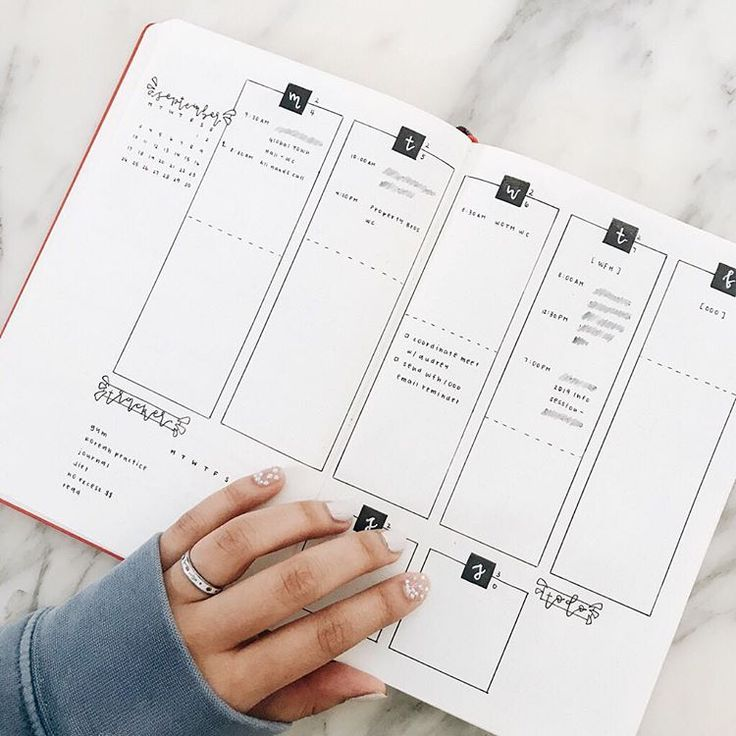 35 Minimalist Bullet Journal Spreads You Have To Try Right Now