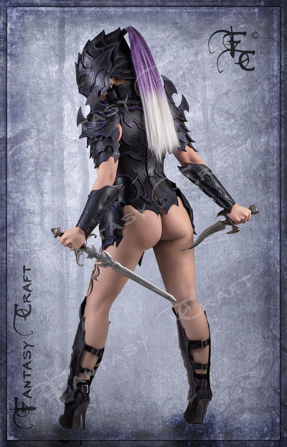 Leder Rüstung Dunkelelfen von FantasyLeatherCraft auf Etsy