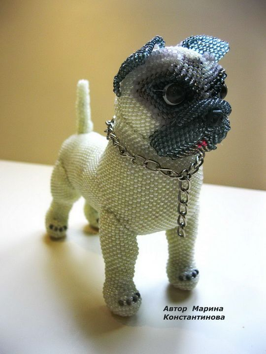Amazing beaded toys by Marina Konstantinova | Beads Magic