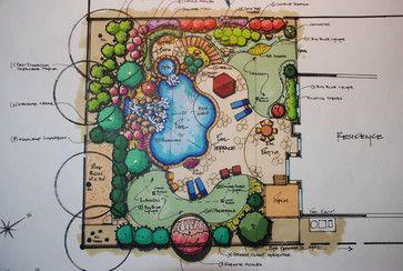 Landscape Plans traditional
