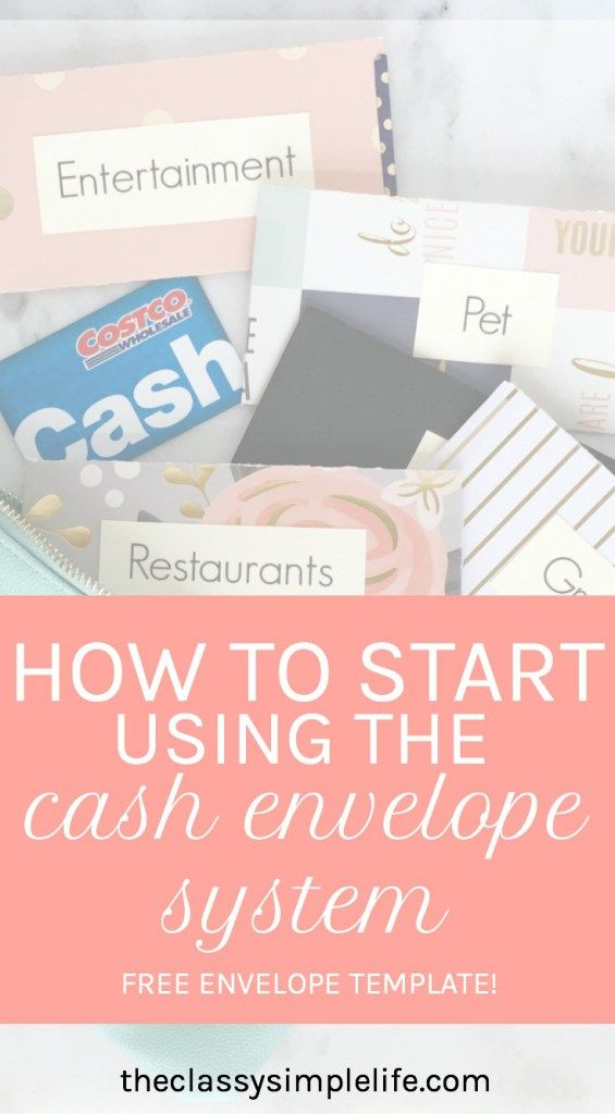 Are you having a hard time sticking to your budget? Have you tried a cash only budget? Click to find out how I got started with the cash envelope system and took control of my money. FREE envelope template!