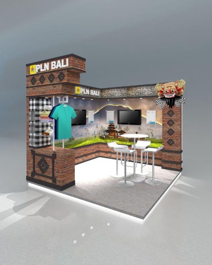 Desain Stand Pameran PLN LIKE 2017