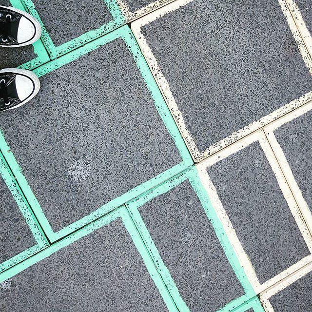 👣 #lookdown #fromwhereistand #fromabove #footpath #pavement #instapath #feet #feetstagram #shoes #shoestagram #floor #community #mycityofsydney #hiddensydney #sydneylocal #cons #converse #sydney #citylife #cityofsydney #urbanlife #urban #summerhill #innercity #innerwest #patterns #shapes