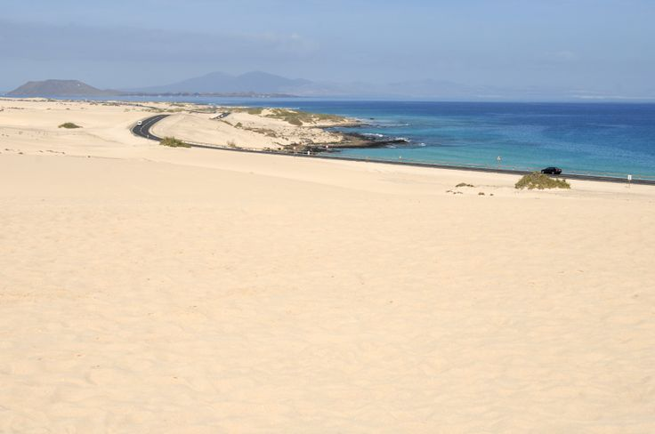 The gorgeous natural sand dunes