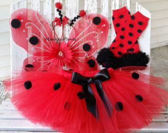 Baby Ladybug Halloween Costume Ladybug by MonkeyPantsPartyHats