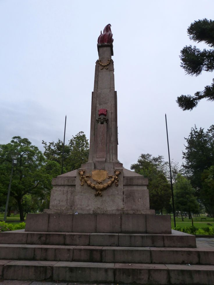 The site of the assassination in 1912 of Eloy Alfaro. El Ejido Park, #Quito #Ecuador.