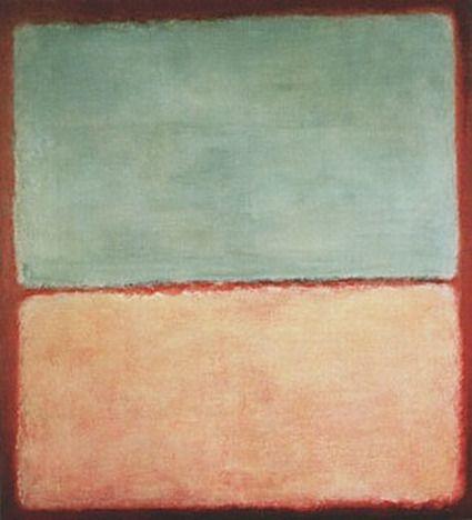 """Mark Rothko, No 9 (Blue Pink), 1956 """