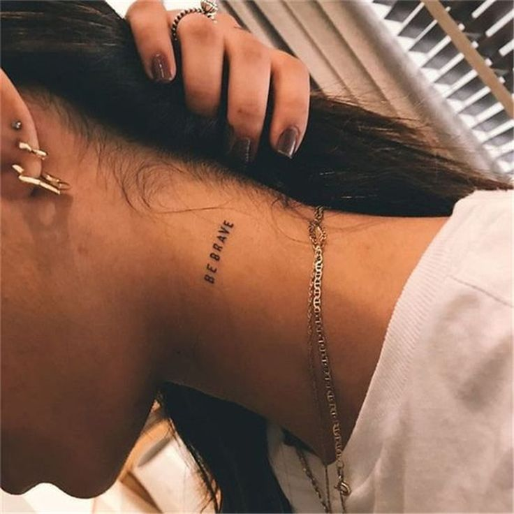 45 Meaningful Words And Numbers Tattoo Designs You Would Love To Try