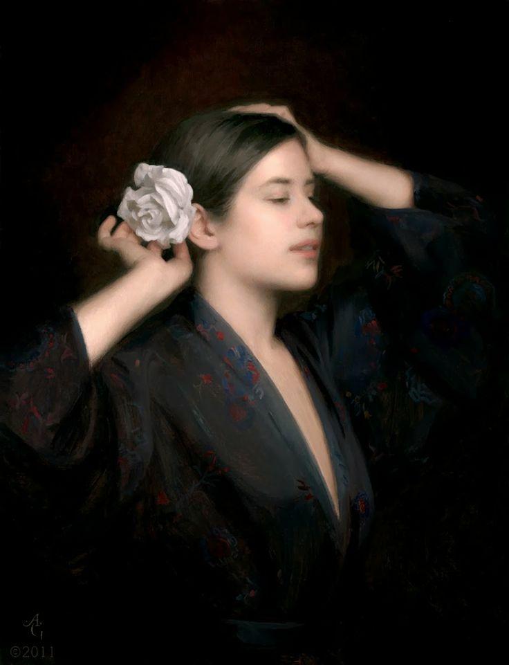 ✍ Adrian Gottlieb ~ American Portrait painter