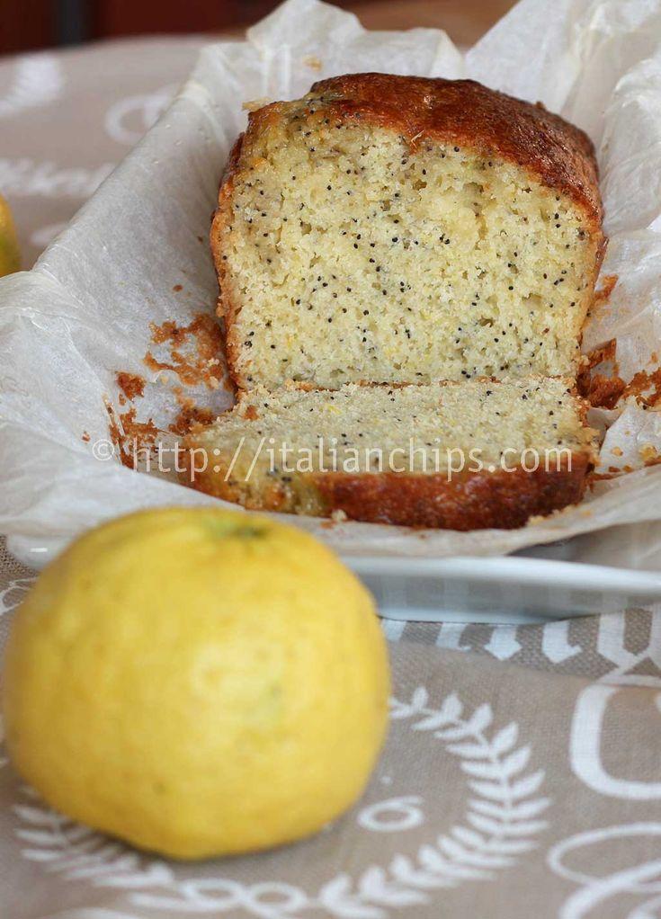 Un Plumcake Al Limone (Senza Burro) Che Diventerà Routine |